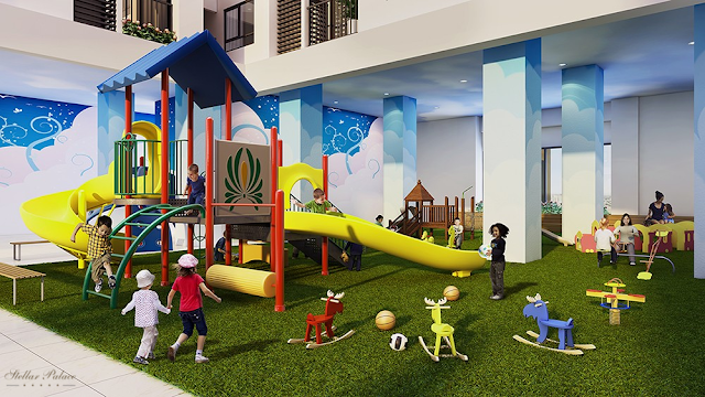 Khu vui chơi trẻ em dự án Stellar Palace Lê Văn Thiêm