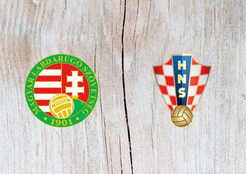 Hungary vs Croatia Full Match & Highlights 24 March 2019