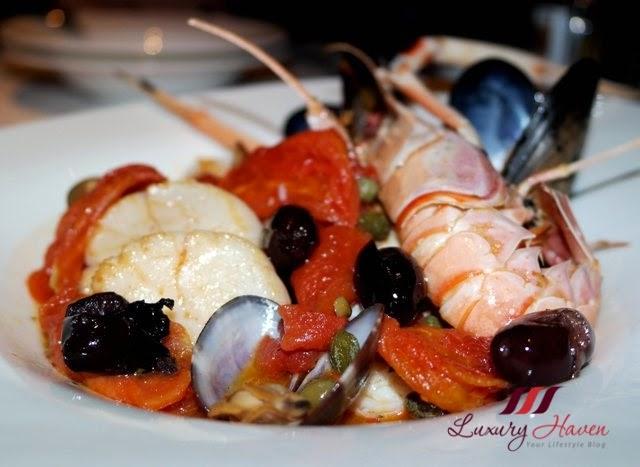 keio plaza tokyo duo fourchettes seafood review