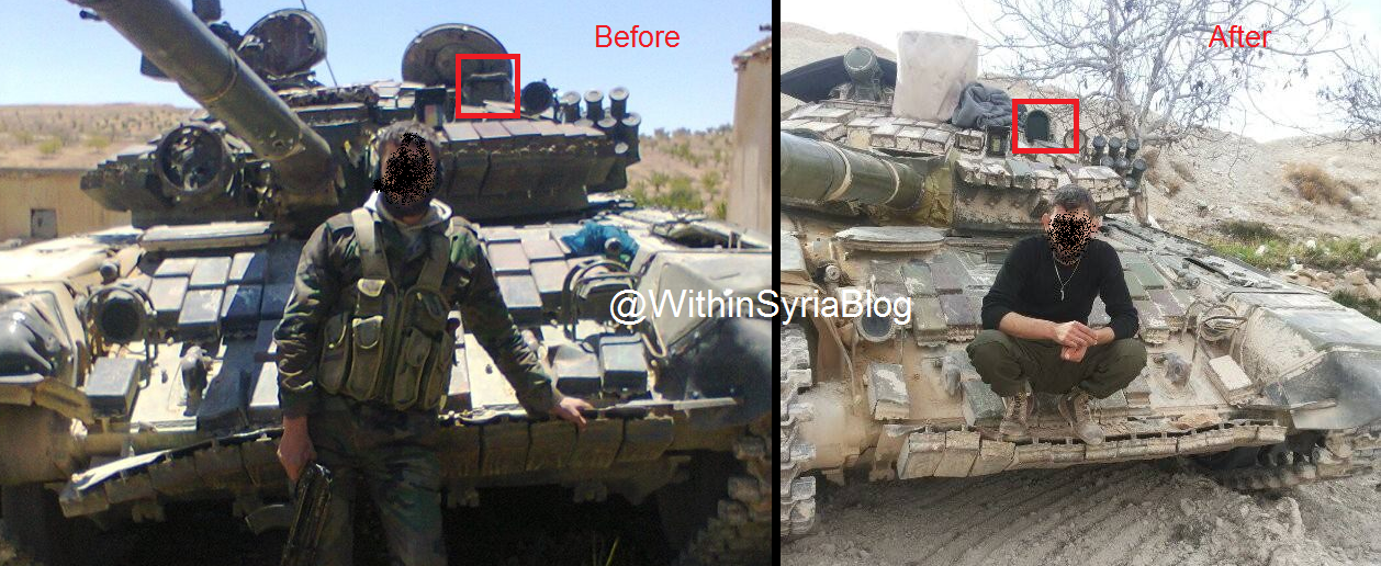 المزيد من الحيل السورية لحماية دبابات النظام !! 111111111111111111111111111111111