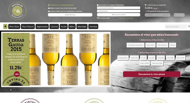 Unvino.es compra el mejor vino online