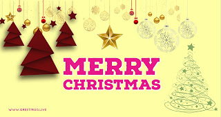 Latest creative Merry Christmas greetings live