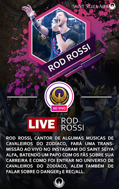 Rod Rossi ao vivo no Saint Seiya Alfa