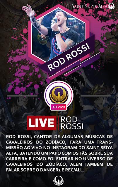 Rod Rossi ao vivo no Saint Seiya Alfa