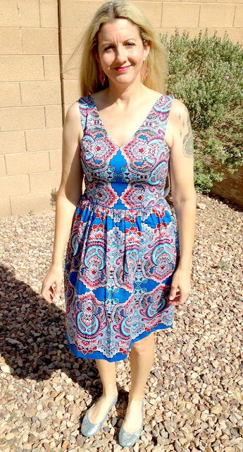Maggy London Patrisha V-Neck Dress - Stitch Fix Review - April 2016