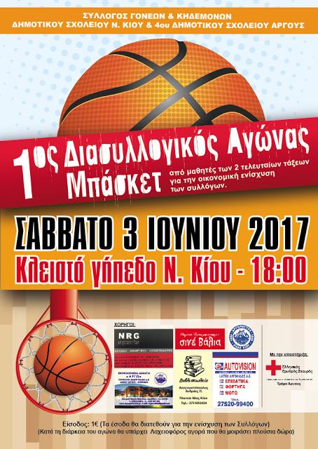 Η AUTOVISION ΙΚΤΕΟ ΑΡΓΟΛΙΔΑΣ στηρίζει τον 1 ο Διασυλλογικό Αγώνα Μπάσκετ