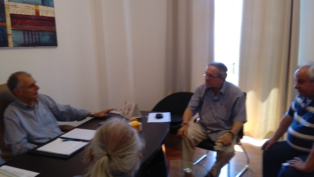 Με εκπροσώπους των συνταξιούχων ΟΑΕΕ συναντήθηκε ο Γιάννης Γκιόλας