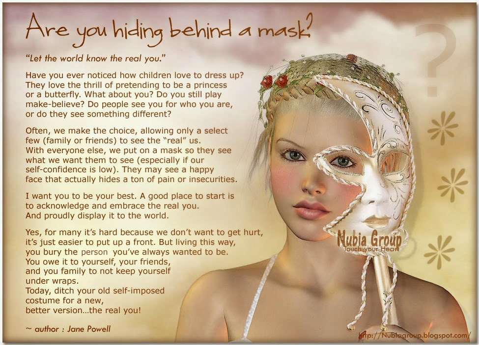 All About 20 Quotes On Wearing A Mask Lying And Hiding Oneself