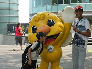 Haechi, the mascot of Seoul