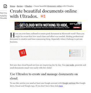 How to Give H3 tage for home page title links and H1 to individual post title in blogger-3