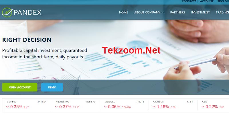 [SCAM] Đầu tư và Trading cùng Pandex lãi tháng 17.8-43.37% trong 25-50 ngày