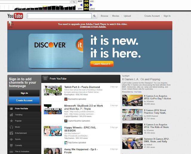 youtube em 2012