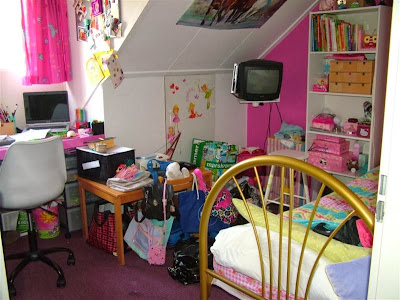 De creatieve wereld van terray van een roze meisjes kamer naar