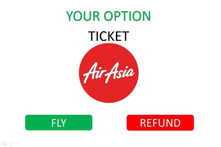 Cara Refund Tiket Pesawat Air Asia