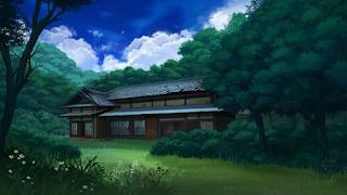 iOSアプリ「歌と森の妖怪屋敷」のイメージイラスト