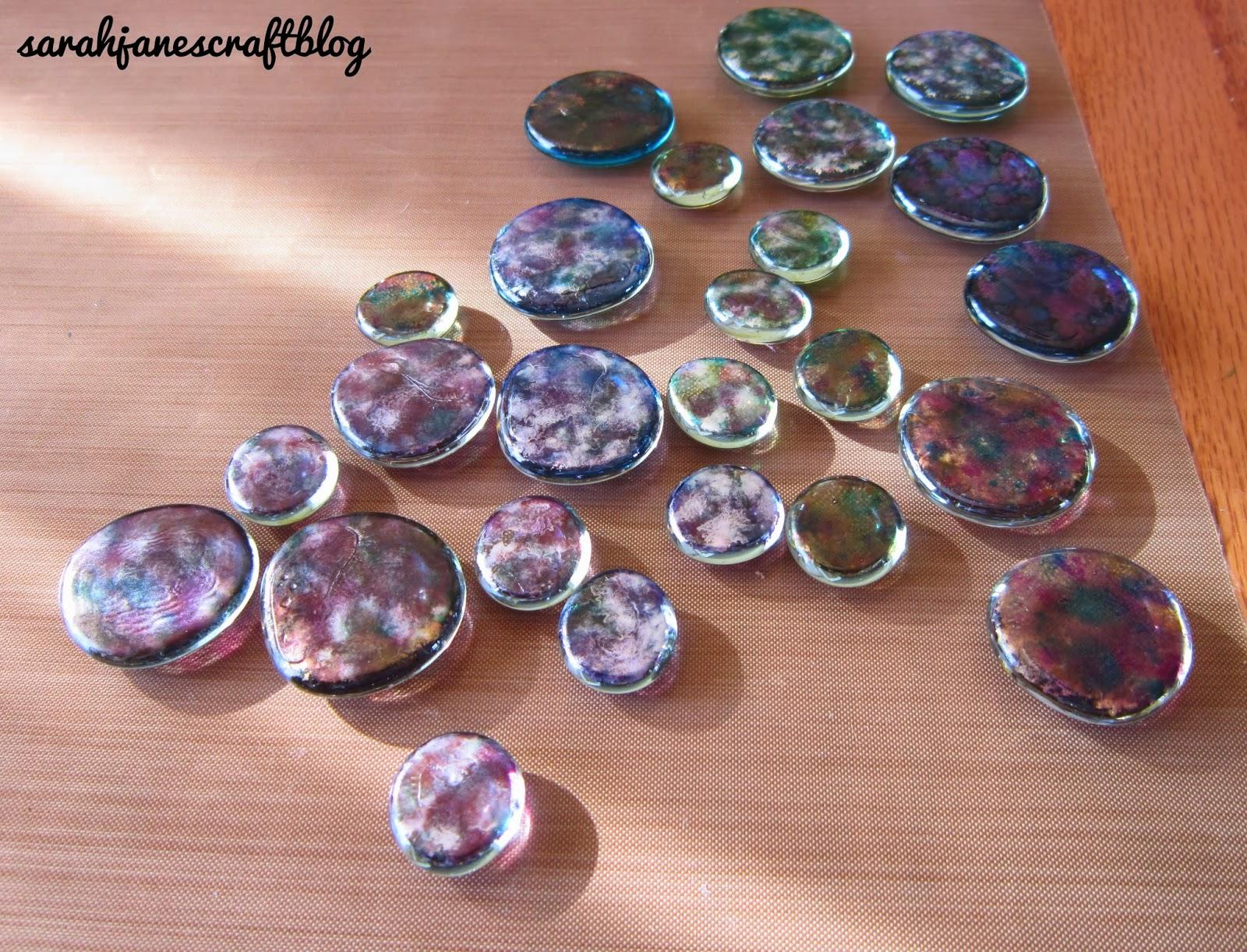 Sarah Janes Craft Blog Alcohol Ink Glass Gems