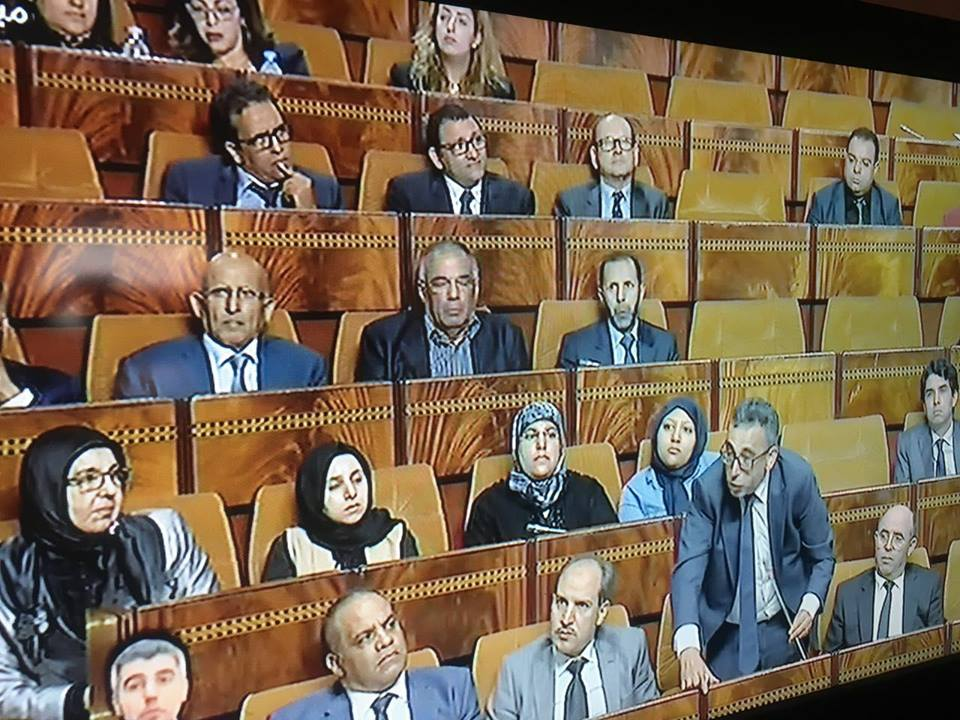 بالصورة...حضور اول جلسة النائب عبد الرحمان ابليلا في قبة البرلمان. اللهم يسر المصالح على يديه لفائدة هذه البلاد العزيزة.