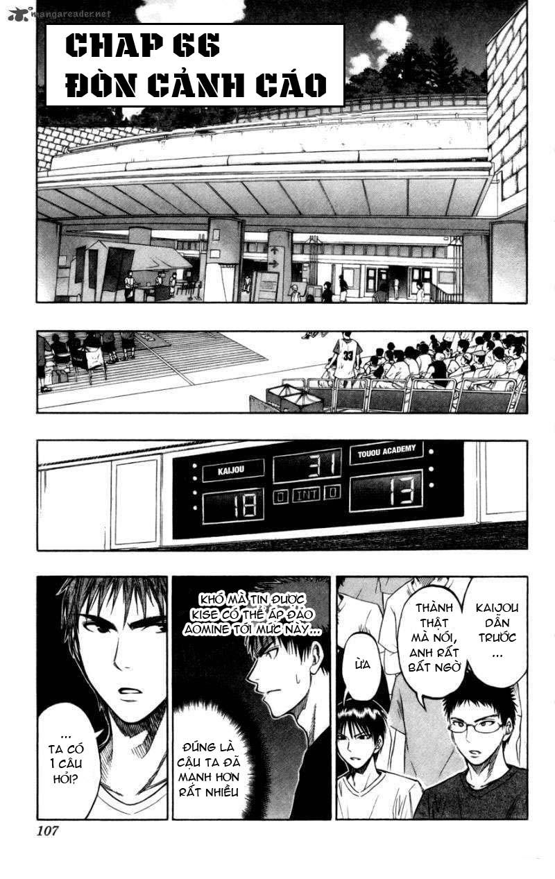 Kuroko No Basket chap 066 trang 1