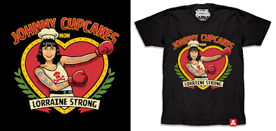 "Johnny Cupcakes ""Lorraine Strong"" T-Shirt Fundraiser"