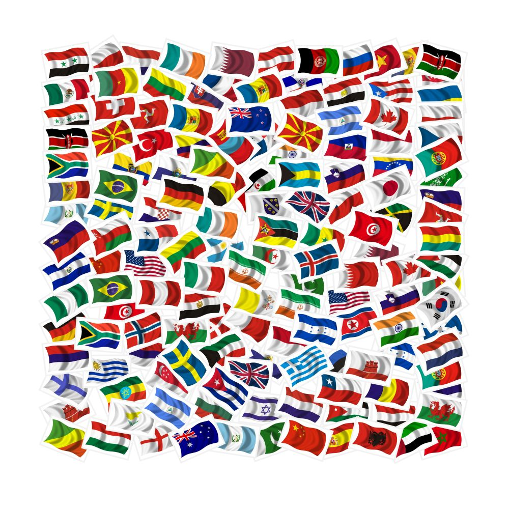 flags of the world 3d wallpaper ~ 3d wallpapers