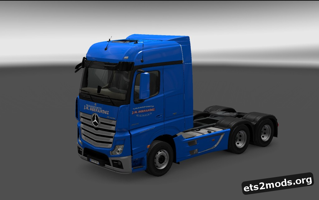 Transports J.M. Hernandez Skin for MP4