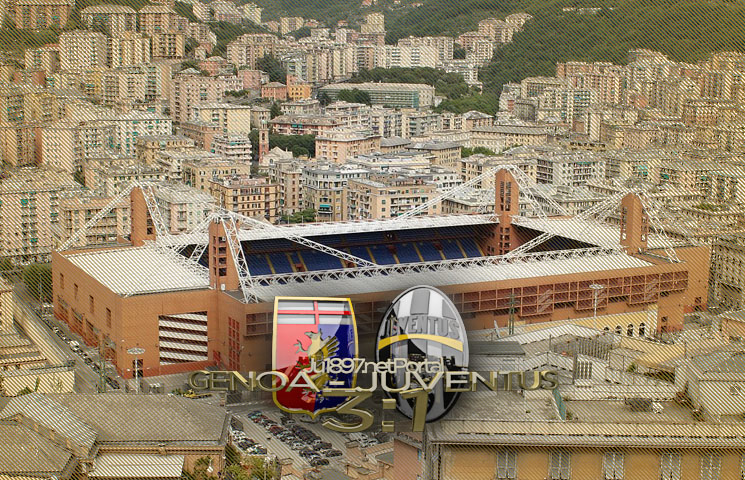 Serie A 2016/17 / 14. kolo / Genoa - Juventus 3:1 (3:0)