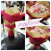 Handbouquet Bunga Valentine Mawar Mix Cryssant