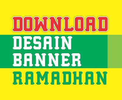 Free Vector : Download Desain Spanduk/Banner Ramadhan 1437 H