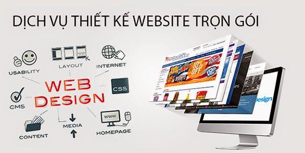 Thiết kế website bán hàng miễn phí trọn gói
