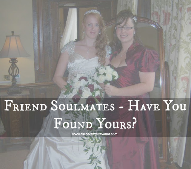 friend soulmates have you found yours? Bride and childhood friend as bridesmaid