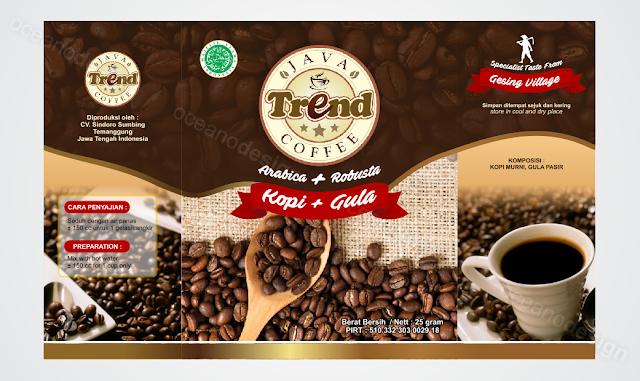 desain kemasan trend kopi