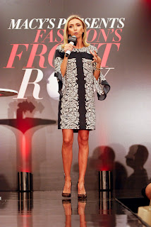 Giuliana Rancic Hosts Macy's Fashion Front Row on September 15, 2016 in Chicago