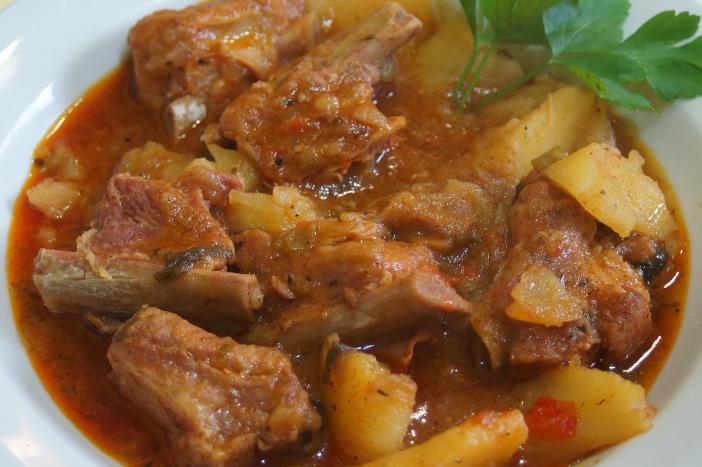 La Cocina De Martín Guiso De Patatas Con Costillas De Cerdo