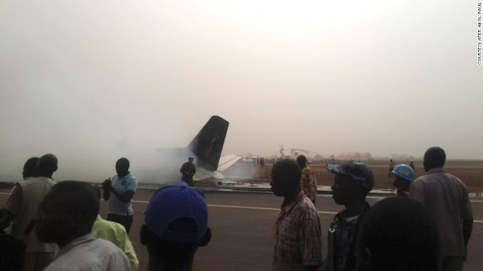 South Sudan plane crash: All on board survive 'miraculous' landing