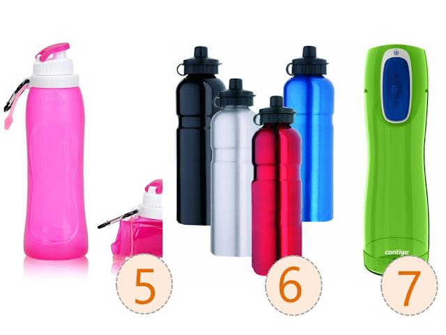 botellas de agua para deportistas