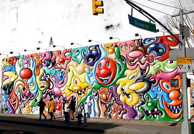 Grafitti In New York 2016 graffiti art or vandalism