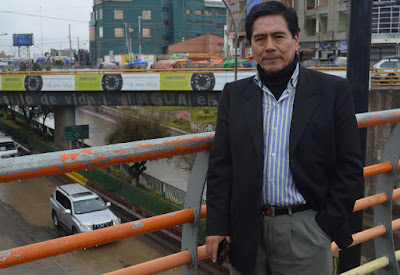 Juan Peña, representante de Ciudad Satélite de la circunscripción de El Alto