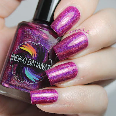Indigo Bananas Polish of Unusual Quality (POUQ)