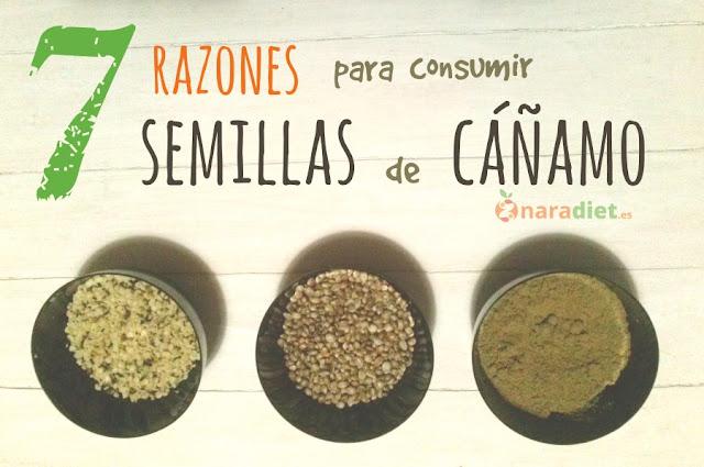 7 razones para consumir semillas de cáñamo