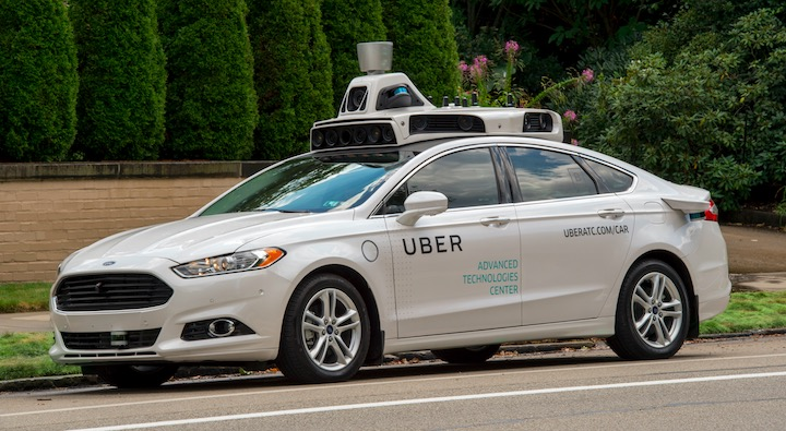 Self-Driving Uber is arriving now starting from Pittsburgh