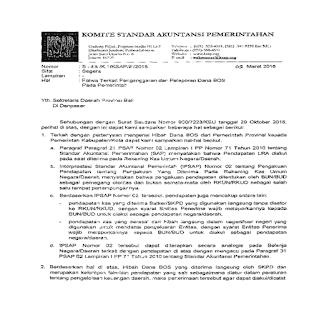 Fatwa dari Komite Standar Akuntansi Pemerintahan (KSAP)