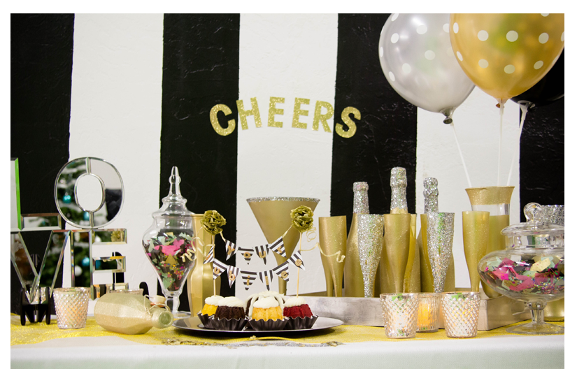 Your Jubilee Gold Tablescape