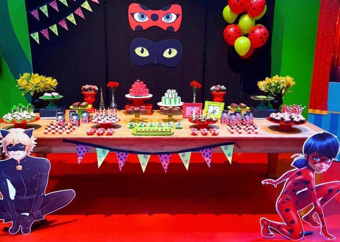 10 ideas para tu mesa de dulces de ladybug - Decoracion party ...