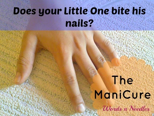nail biting in children. A little trick called the mani cure that helps them want stop