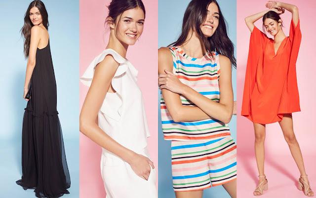 Moda primavera verano 2018 - Ropa de mujer: Looks estilo casual urbano minimalista. Moda 2018.
