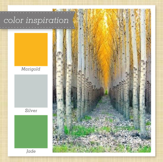Gray Paint Color Palette: Anything Goes With Green & Gold