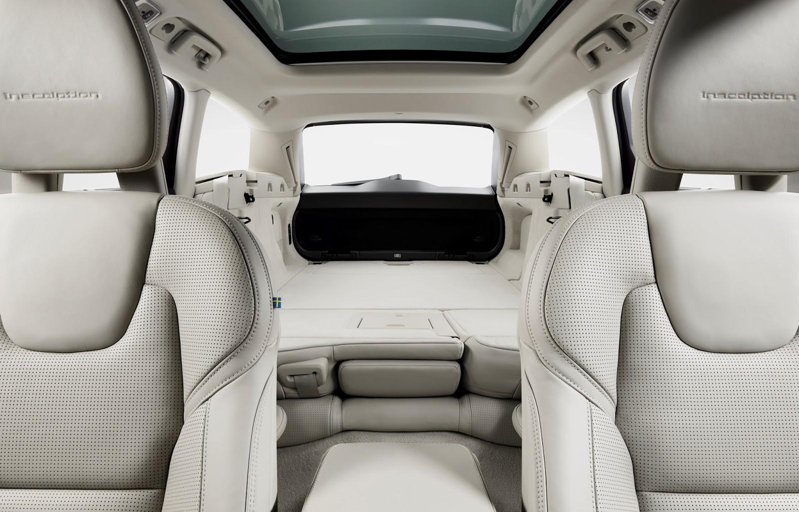 173841 Volvo V90 Studio Folding Rear seats Το V90 είναι το πιο όμορφο, το πιο ασφαλές station wagon και το πιο... Volvo Station Wagon, Volvo, Volvo V90