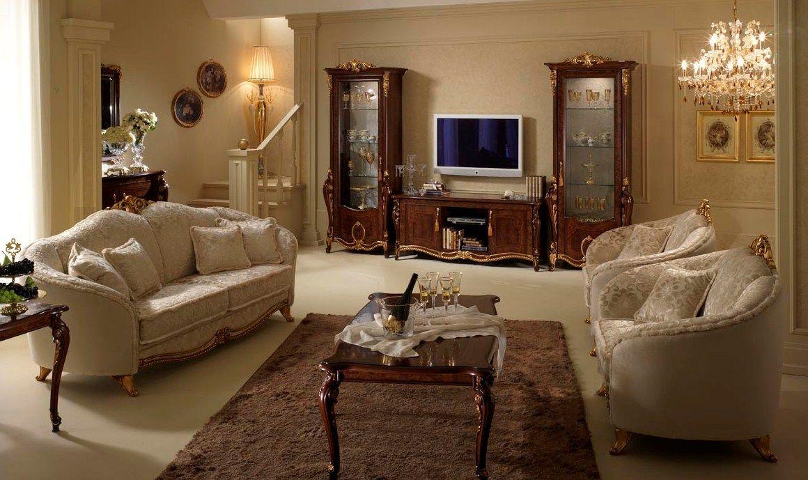 Salas en estilo cl sico salas con estilo for Salas clasicas modernas