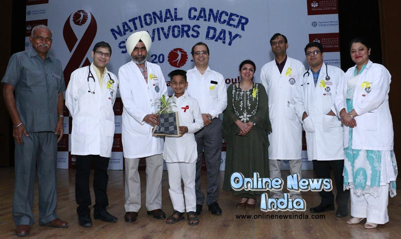 American Oncology Institute at DMCH honoring Cancer Survivors on the occasion of the National Cancer Survivors Day