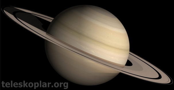 satürn gezegeni ve teleskop gözlemi